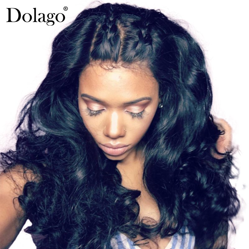 180% Density Full Lace Human Hair Wigs For Black Women Brazilian Body Wave Remy Hair Natural Hairline With Baby Hair Rosa Queen