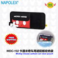 Free shipping Car Accessories Mickey mouse cartoon car visor glove pouch WDC-102