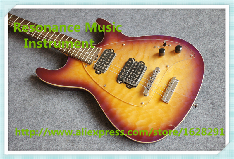 Hot Selling Qulited Finish Musicman SM-Y2D Electric Guitars Steve Mouse Signature China Guitars For Sale