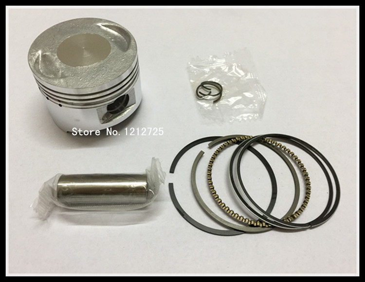 Pedal motorcycle WH100 <font><b>SCR100</b></font> Piston ring assembly Piston diameter 50mm Piston pin 13mm image