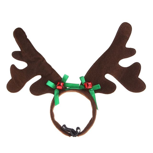 Christmas Pet Headband Deer Horn Hat Costume Dog Puppy Cat Cosplay Party Product Nov-11A 2