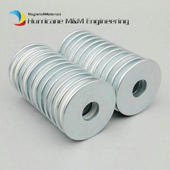 24pcs NdFeB Magnet Ring Dia. 32.3x10x2 mm N35SH High Temperature Thin Ring Magnetized Neodymium Permanent Rare Earth Magnets