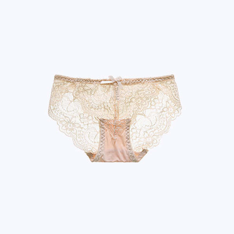 DEWVKV Summer Sexy Women's Briefs Low-Rise Breathable Transparent Solid Soft Colorful Fashion Women's Intimates New Arrival ZC
