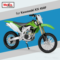 Maisto for Kawasaki KX450F Motocross Simulation Model Offroad Racing Motorcycle Scooter Motorbike Motor Model Diecast Scale 1:12