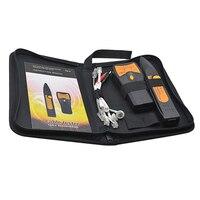 Original TM 8 LAN Network Cable Tester Cat5 Cat6 RJ45 UTP STP Line Finder Telephone Wire Tracker Diagnose Tone Tool Kit