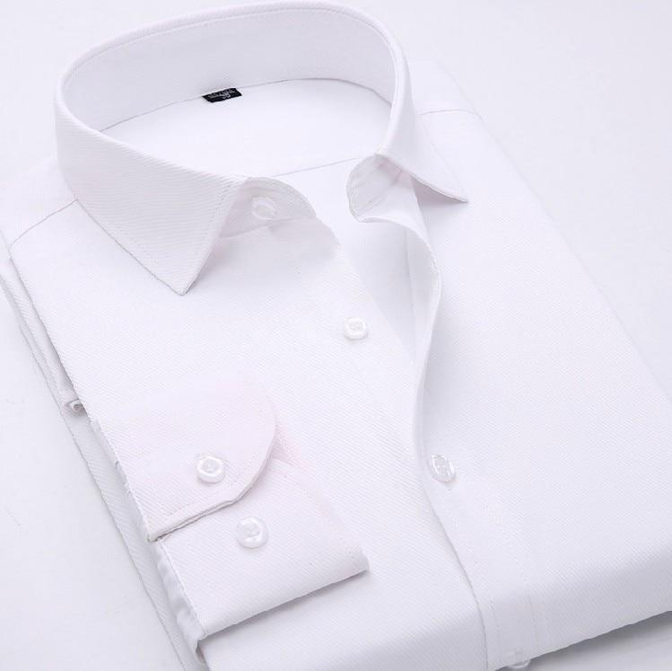 e76b8850b Nova Primavera dos homens Camisa de Manga Longa Homens Camisa do Negócio