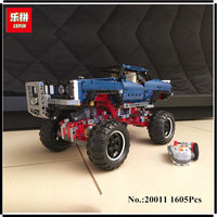IN STOCK Lepin 20011 1605pcs Technic Remote Control Electric Off Road Vehicles Building Block Toys Compatible