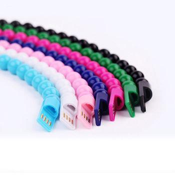 Micro USB2 0 cr atif USB donn es synchronisation c ble de charge perle Bracelet chargeur