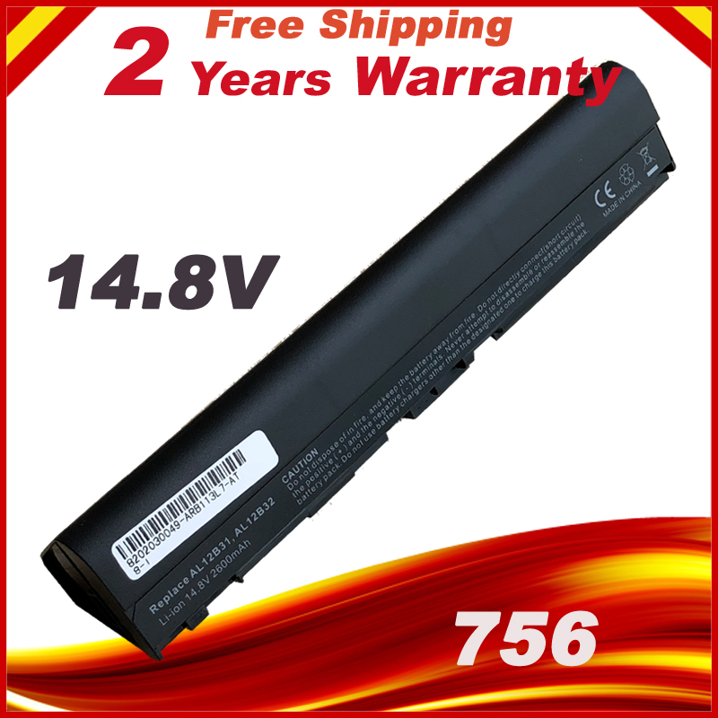 все цены на Battery for Acer Aspire One 756 V5-171 725 TravelMate B113 B113M B113-M C7 C710 AL12X32 AL12A31 AL12B31 AL12B32