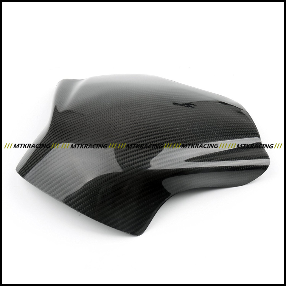 Free shipping Carbon Fiber Fuel Gas Tank Protector Pad Shield For YAMAHA YZF-R6 2008-2015 08 09 10 11 12 13 14 15 black color motorcycle accessories carbon fiber fuel gas tank protector pad shield rear carbon fiber for kawasaki z1000 03 06