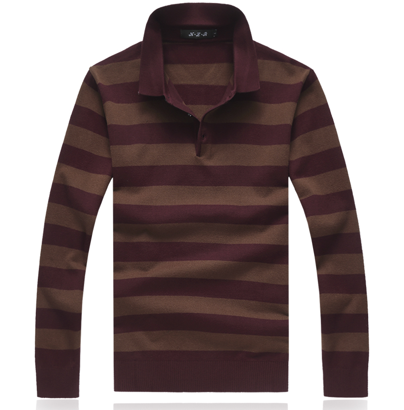 M-8XL Autumn Winter Christmas Cashmere Sweater Men Pullover Fashion Brand Mens Jumper Plus Size Striped Mens Sweaters 2019
