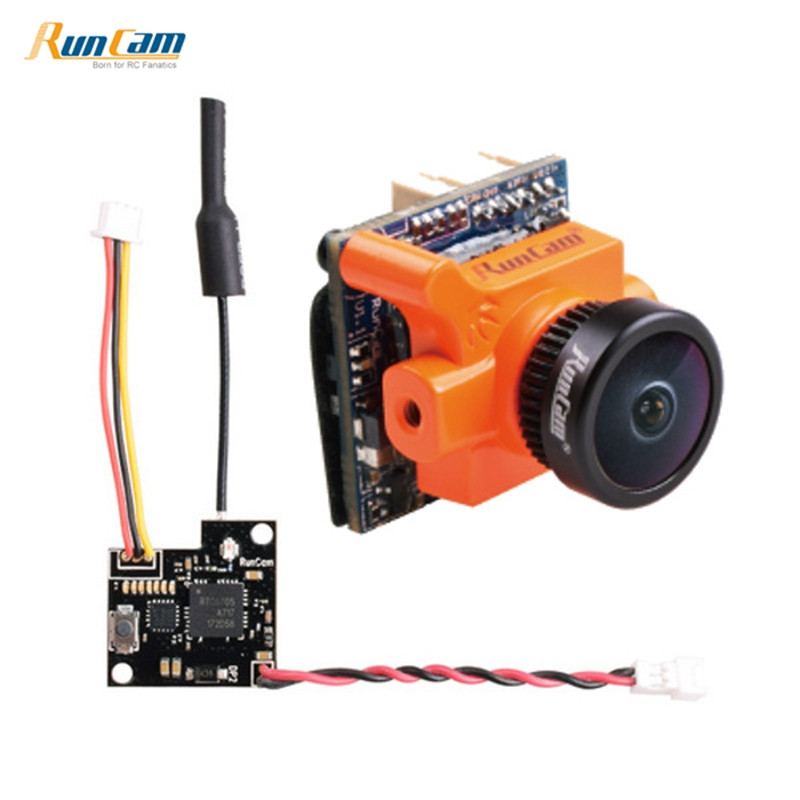 Best Deal! RunCam Micro Swift 2 600TVL CCD FPV Camera & TX25 5.8G 48CH 25mw Video Transmitter Combo for RC Racer Racing Drone fx797t 5 8g 25mw 40 channel av transmitter with 600 tvl camera soft antenna for indoor fpv racing drone