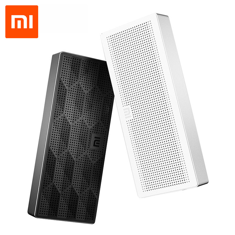 Original Xiaomi Mini Speaker Square Box Bluetooth 4 0 EDR HiFi Wireless Portable Stereo Handsfree For