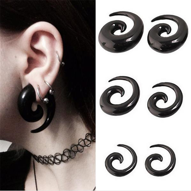 10pcs Ox Horn Oreille Expander Stretcher Plug Body Piercing Jewelry