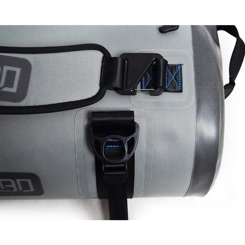 GZLBO TPU 60L Stor Kapacitet Färdig Luftig Stor Grå Resväska - Väskor för bagage och resor - Foto 5