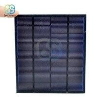 Panel Solar de 0,05 W, 0,6 W, 1W, 1,5 W, Mini sistema de energía Solar artesanal para células solares, batería, cargador de teléfono móvil, 0,5 V, 6V, 9V, iluminación del hogar