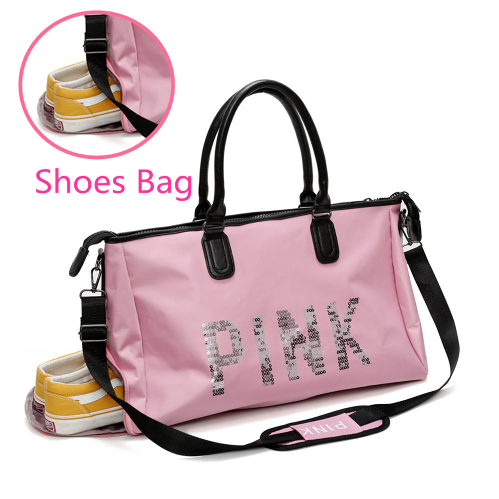 2019 Waterproof Shoulder Sports Gym Bag For Shoes Bags Women Fitness Yoga Training Men Gymtas Tassen  Sac De Sport Tas