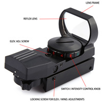 11 Mm Hunting Holographic JH400 Holographic Electro Red Green Dot Reflex Sight Scope 11MM 11