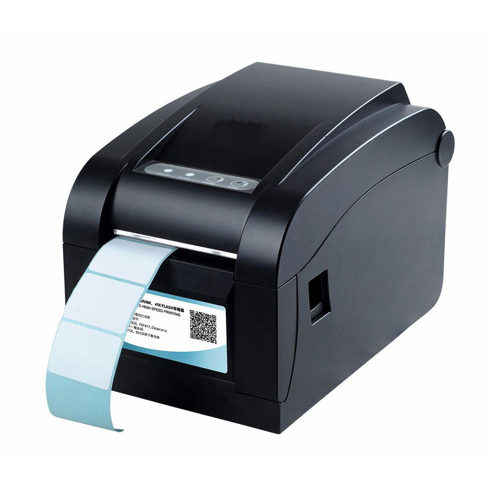 High quality Thermal sticker printer  Barcode printer Label Printer with USB+Serial+Lan Interface zebra zt410 300dpi thermal barcode label printer industrial printing machine zm400 updated model usb serial ethernet port