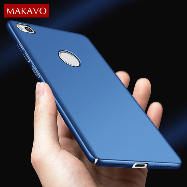 quality design 35b0d 7fdd2 US $3.82 15% OFF|MAKAVO for Xiaomi Mi Max Case Hard 360 Protection Matte  Plastic Back Cover Phone Cases For Xiaomi Mi Max 2 6.44