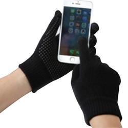 NIBESSER вязаные перчатки зима-осень мужской Сенсорный экран перчатки высокое качество плюс тонкие бархатные теплые варежки Бизнес