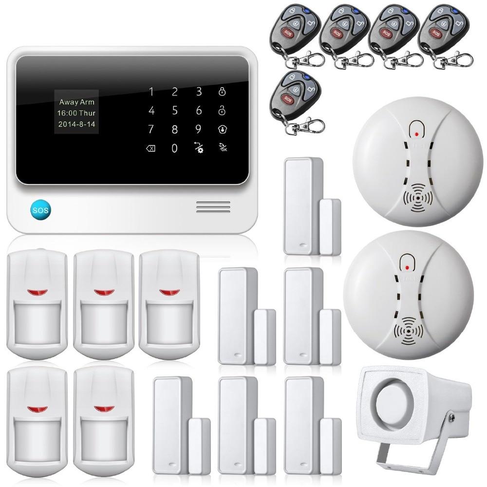 New Brand WiFi Alarm System Door Gap Sensor Internet GSM ...