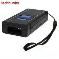 MJ-2877 Draadloze Bluetooth 4.0 Auto Sense Laser Barcode Scanner Lange Range Cordless Bar Code Reader