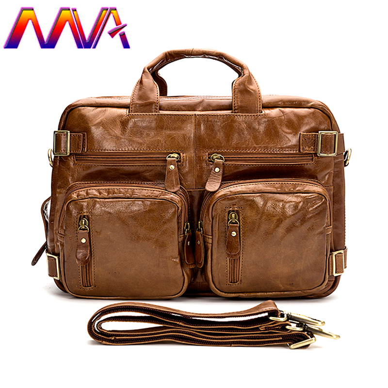MVA Newly design genuine leather men travel bag and leather men shoulder bags with cow leather men travelling bag 2018 newly design men s genuine real 100