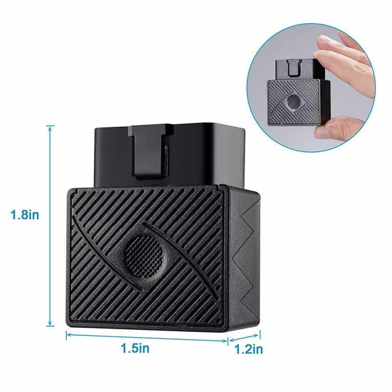 Mini Plug Bermain OBD Gps Pelacak Mobil GSM OBDII Alat Pelacak Kendaraan OBD2 16 PIN Antarmuka X2 Baru
