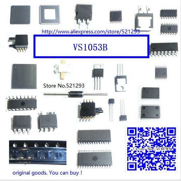 1piece VS1053B LQFP VS1053B-L QFP Ogg Vorbis/MP3/AAC/WMA/MIDI AUDIO CODEC  new