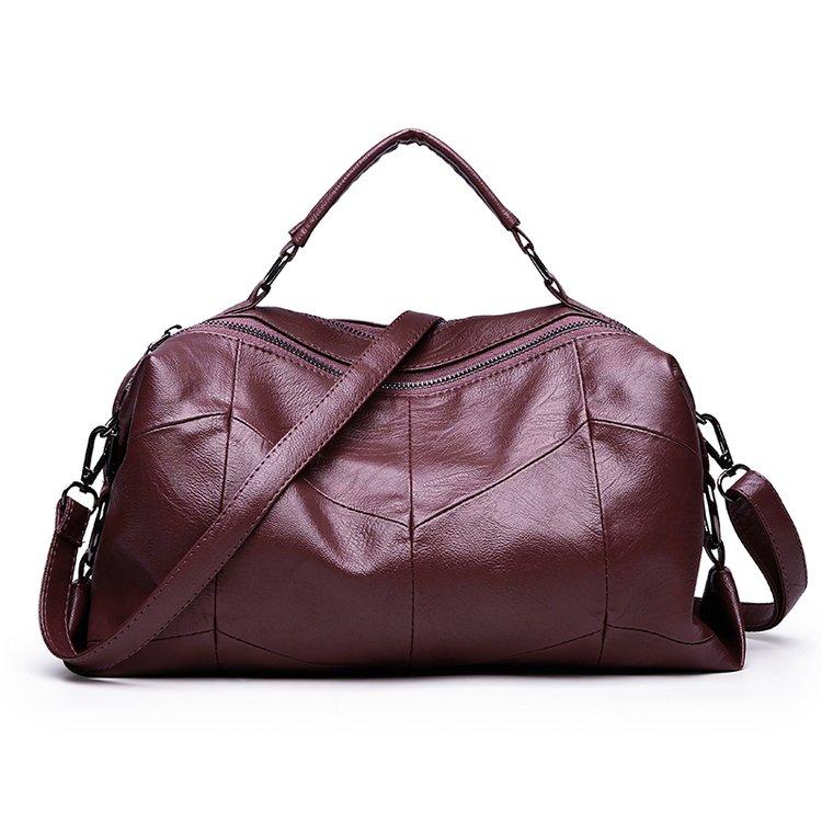 Women Bag Luxury Brand Handbags Women Bags Designer PU Leather Tote Bag 2017 Ladies Autumn Boston Shoulder Bags Fashion Sac