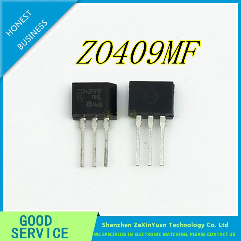 20pcs/lot ZO409MF <font><b>Z0409MF</b></font> TO-202 600V / 4A / 0.2W triac original authentic image