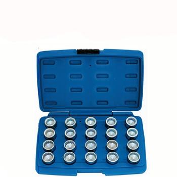 20 PCS Anti-theft screw tool kit wheel locking screw socket for Porsche Cayenne Touareg