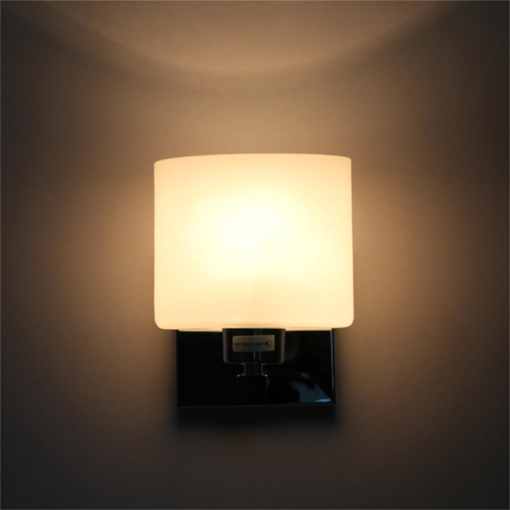 ICOCO High Quality Modern Wall Light Cover Glass Shape Chrome Lamp Sconce Corridor Living Lamp Shade Flash Deal Sale