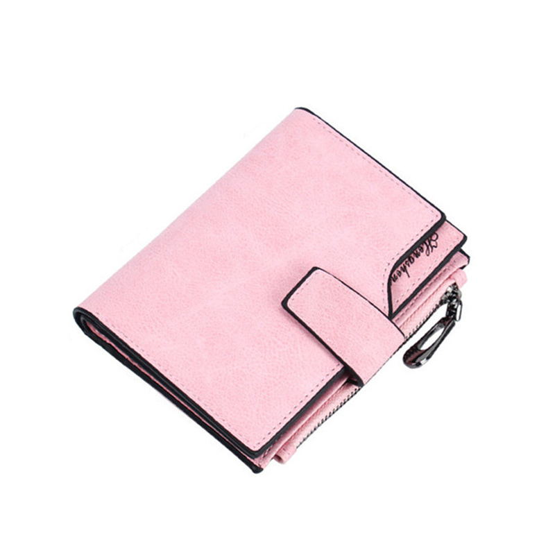 CUIKCA New Design Fashion Multifunctional Large Capacity Women Wallet PU Matte Leather Female Wallets Coin Purse Card Holder