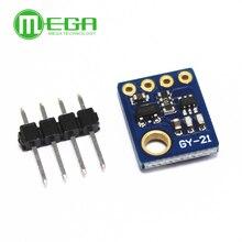 10 pces sensor de umidade com i2c iic interface industrial alta precisão GY 21 módulo sensor temperatura baixa potência GY 21 HTU21