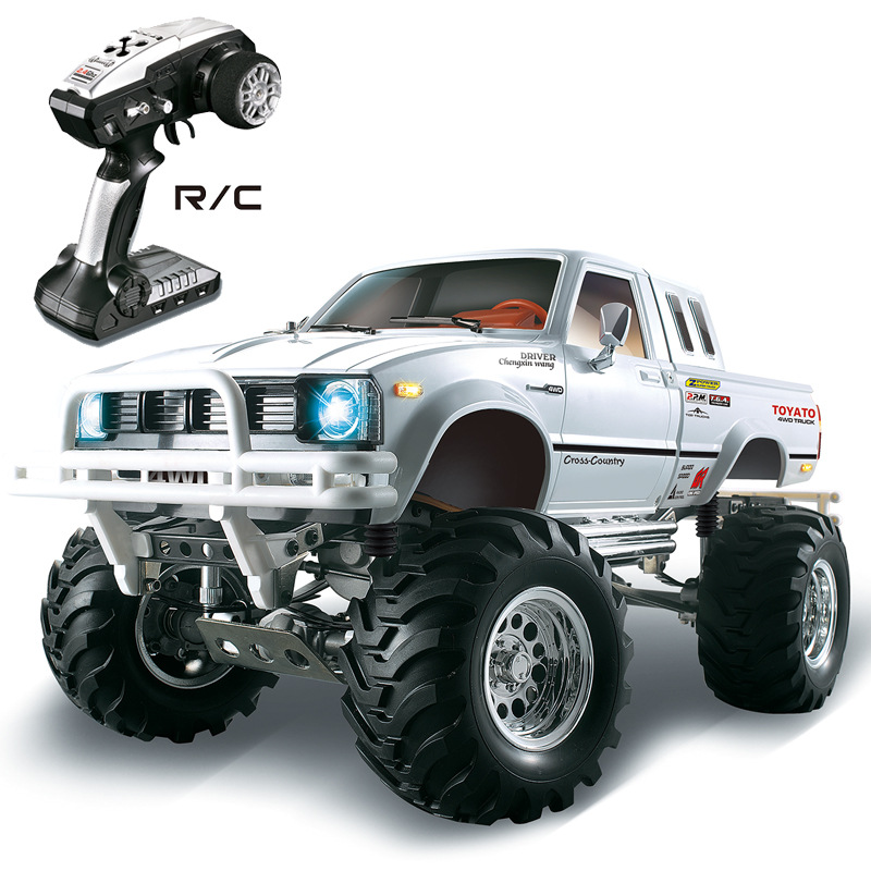 New High speed electronic remote control Monster Pick up Truck 1/10 RC 30Mins Monster Rock Crawler 4X4 TRUCK with Brake Function детские наклейки монстер хай monster high альбом наклеек