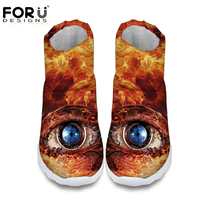 3D big eyes printed women winter snow boots grey brown waterproof non slip warm ankle botas for ladies brand rubber botte femme