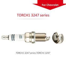 Цельнокроеное платье Китай Оригинальный факел Иридиевые свечи вилки TORCH1 серии 3247 для Chevrolet