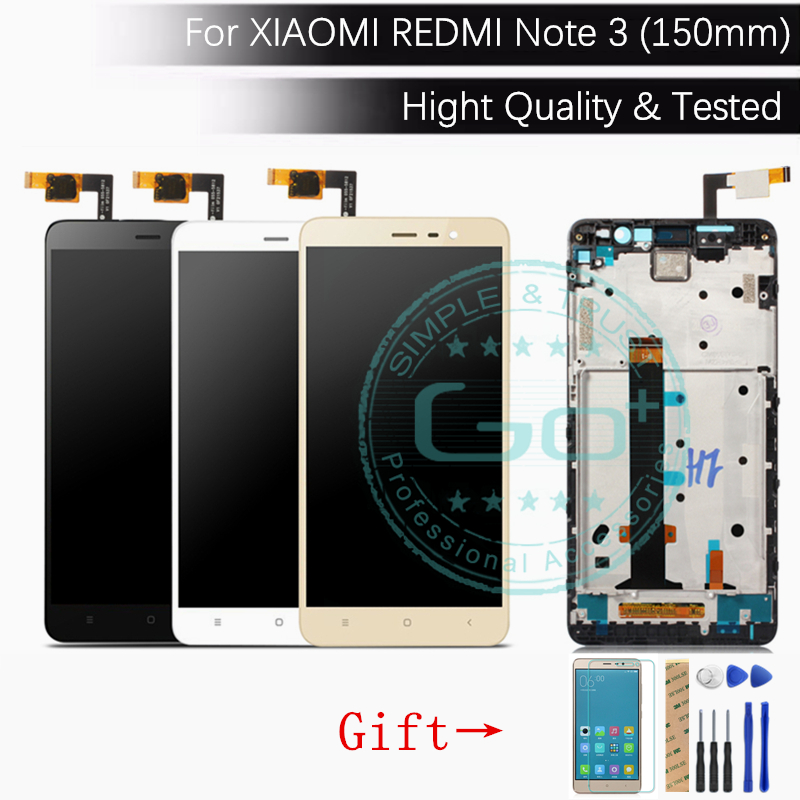 For Xiaomi Redmi Note 3 Pro LCD Display Frame Redmi Note 3 LCD Display Digitizer Screen