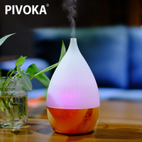 Aroma Essential Oil Diffuser Ultrasonic Air Humidifier With USB Charging ABS PP 5 Color Changing LED