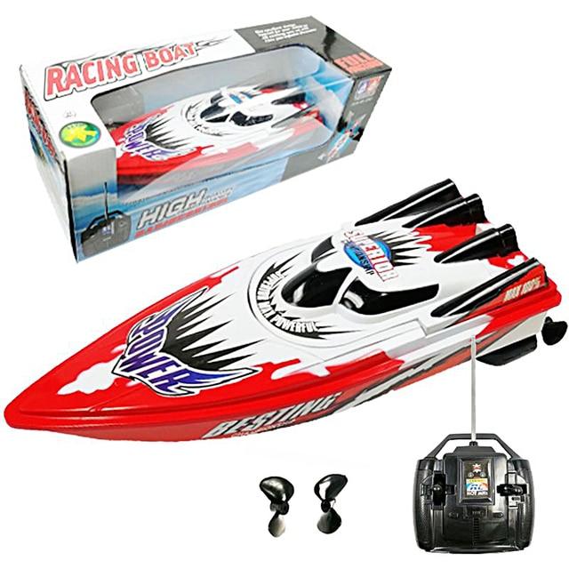 Высокая скорость яхты дистанционное управление игрушки RC гоночные лодки корабль модельная лодка игрушка быстрая rc лодки лучший подарок на ...
