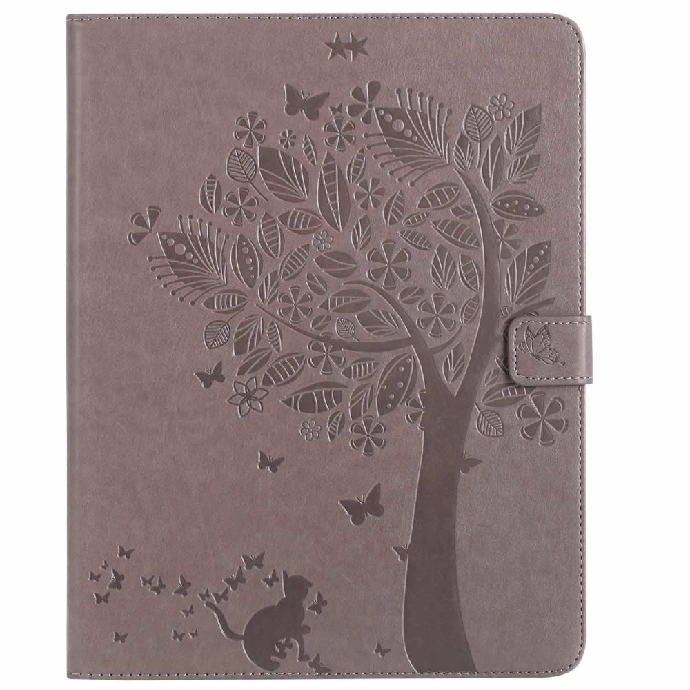 For Apple Ipad 2Nd 3Rd 4Th Generation Tablet Case Cat Girl PU Leather Wallet Case With Auto Wake/Sleep Smart Cover For Ipad 4 32