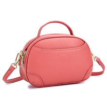 Fashion Small Women Leather Handbag Simple Elegant Genuine Shoulder Bags Mini Crossbody Bag Female