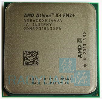 AMD CPU Processor X4-860K Fm2  Quad-Core Ghz Ad860kxbi44ja-Socket 95W