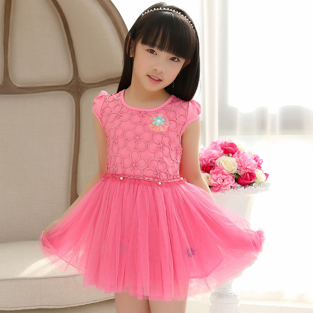 aliexpresscom buy 1 6 year old small childrens wear girls summer 2015 new sweet princess beautiful flower bud silk dress from reliable wear pink dress - Small Childrens Images