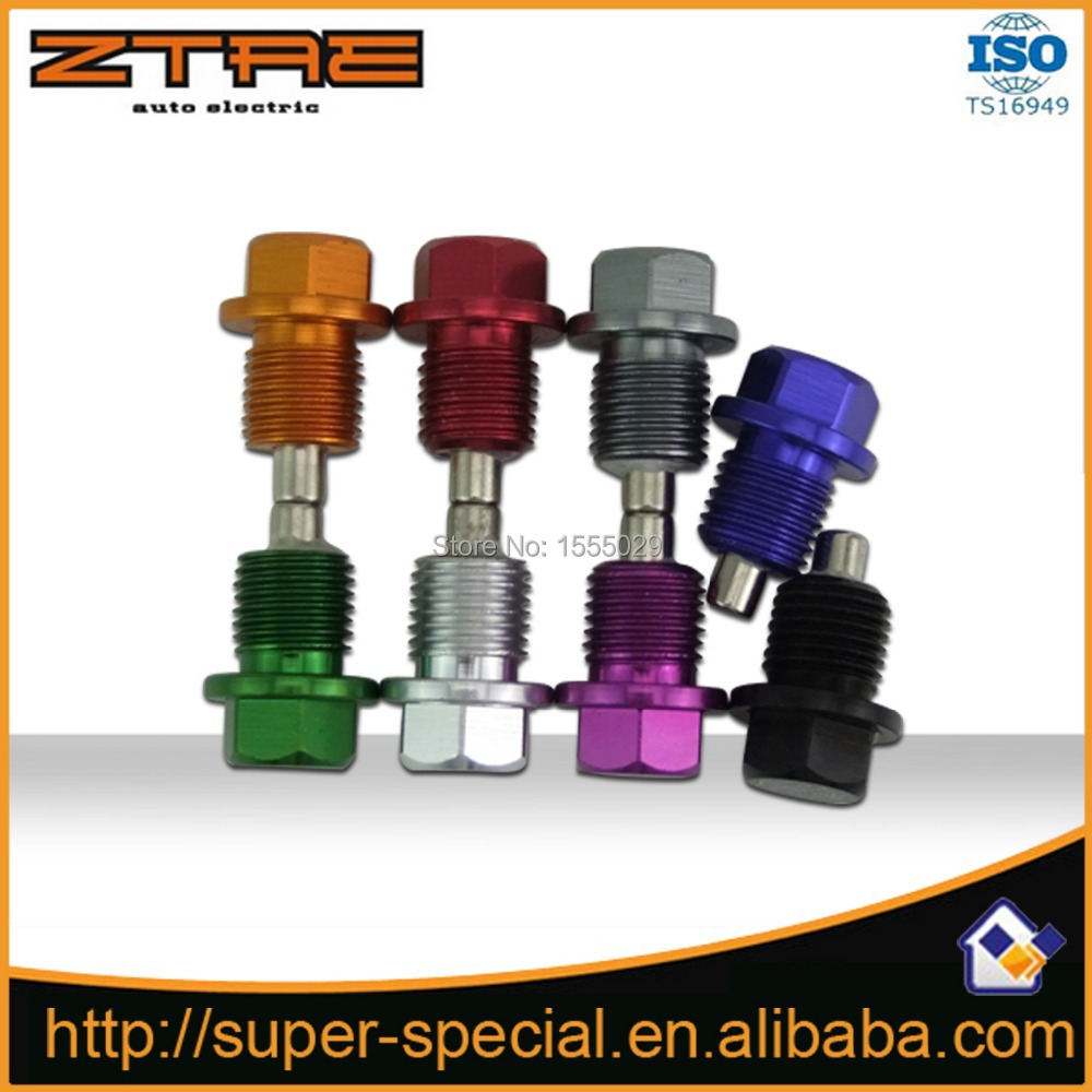 M14*P1.5MM Engine Magnetic Oil Sump Plug Bolt Nut Fit for Hond@ for Acur@ for Mitsubi*shi for Ford and for G*M vehicles