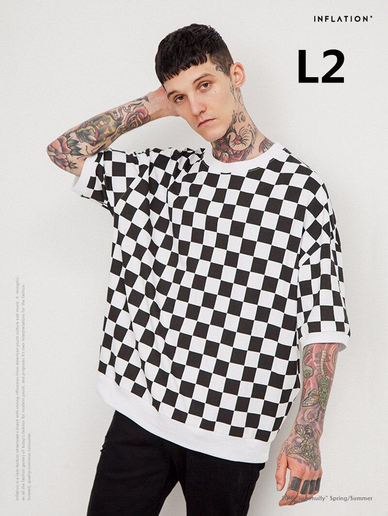 2018 Nouveau arrivent Mode hommes de 100% coton t-shirt L2 2 Pcs/ensemble