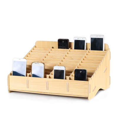 Cell phone LCD screen maintenance receiving box Storage lattice Tabletop display cabinet Repair Packing box