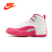 Original New Arrival Authentic NIKE Air Jordan 12 Retro GG Valentine's Day Womens Basketball Shoes Sneakers Sport Outdoor